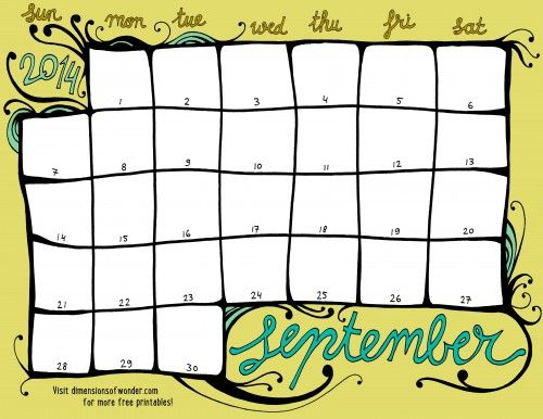12 best calendar template images on Pinterest Calendar templates - classroom calendar template