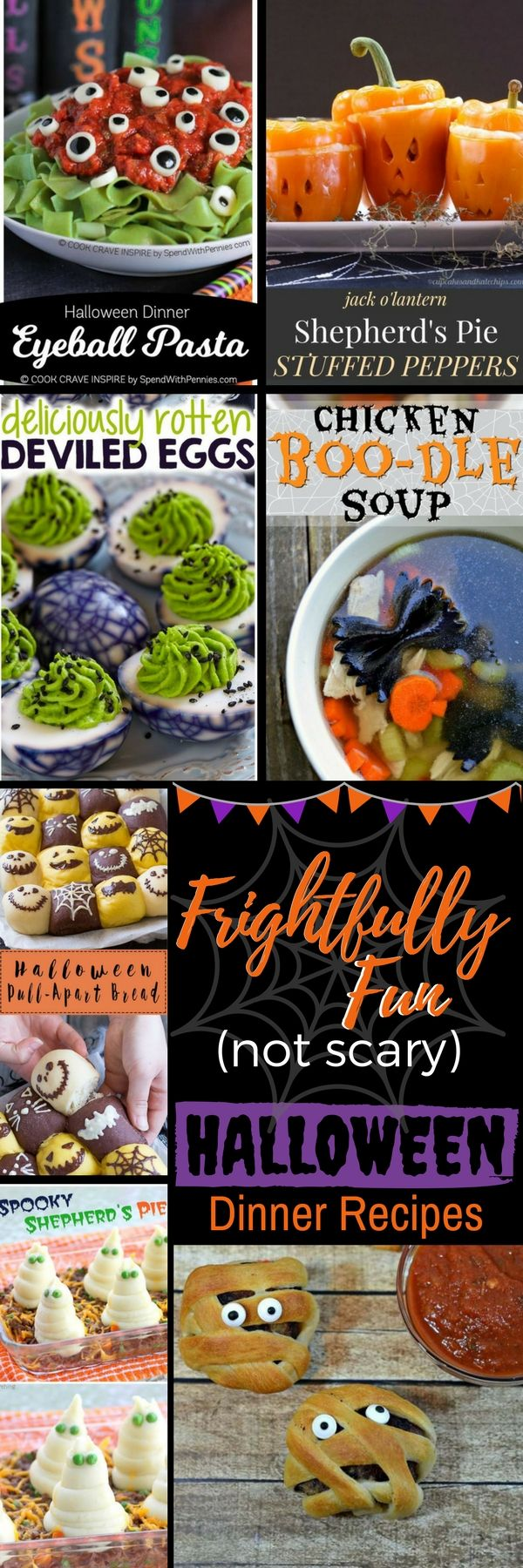 Halloween Food Dishes the Kids Will Love | Serendipity and Spice - Halloween recipes - kid friendly recipes - food for preschoolers - party ideas - spooky treats - savory dinner ideas - festive dinner - Halloween Dinner Ideas
