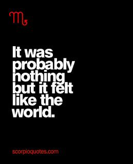 Nothing for you. The world to me.