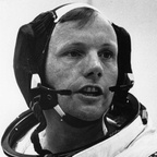 Neil Armstrong - American astronaut and first man to walk on the moon