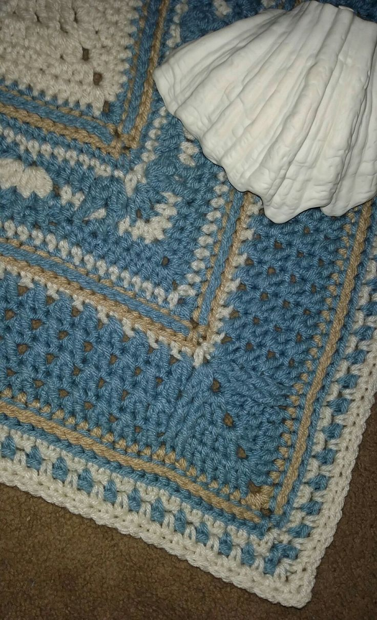 Atlanticus CAL beginning of Part 6 Pattern by Vanessa Smith Fishcake