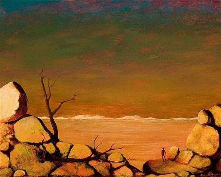 Landscape (Circa 1966) George Russell Drysdale (1912-81) Australia