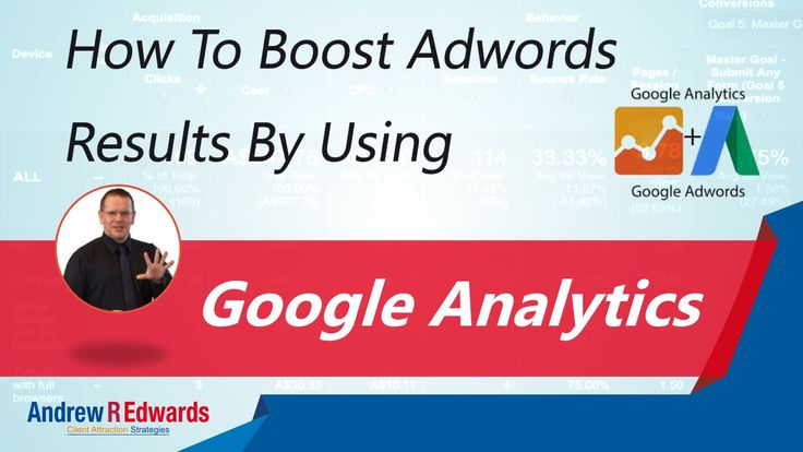 Boost Your Adwords Results by Using Google Analytics
