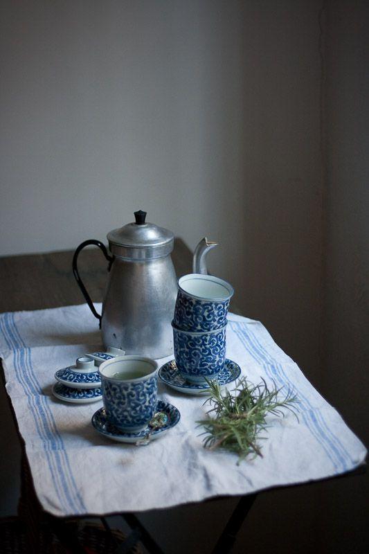 Rosemary's Baby ;)  - A Bingley's Teas Blend  Rosemary white tea and lavender