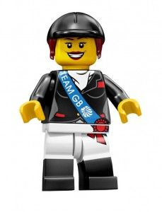 Team GB Minifigures...Horse Rider    Hurry only while stocks last
