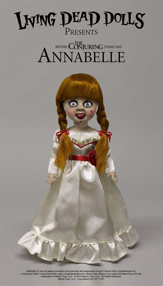 Living Dead Dolls Puppe Annabelle 25 cm - The Conjuring - Doll Living Dead Dolls Annabelle - Hadesflamme - Merchandise - Onlineshop für alles was das (Fan) Herz begehrt!