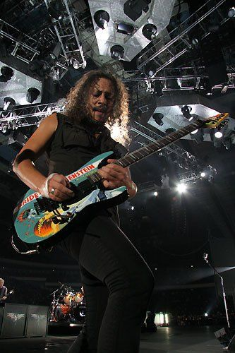 Kirk Hammet: Lead guitarist for Metallica since 1983, after Dave Mustaine was fired.