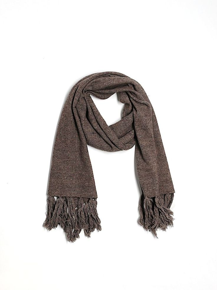 scarf wool gray and all saints