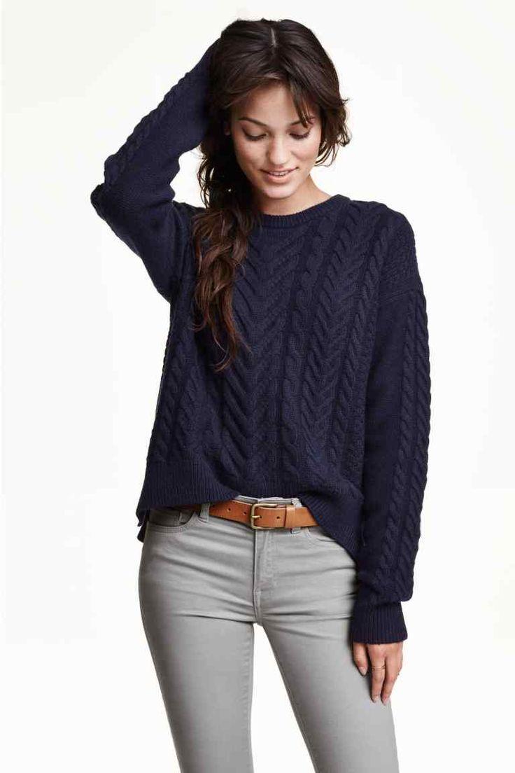 Pullover in misto lana   H&M