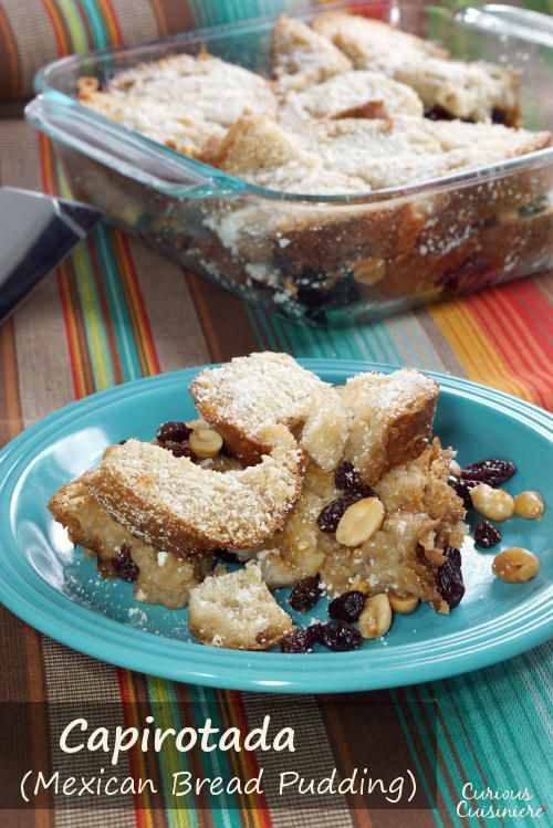 114 best dessert recipes from around the world images on pinterest capirotada de agua mexican bread pudding forumfinder Images