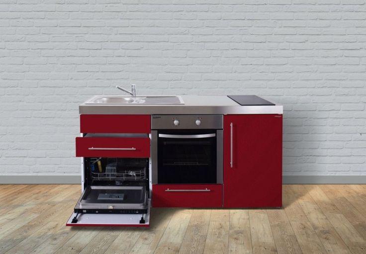 Miniküche Stengel Premiumline MPBGS 170, Metall, 170 cm, Farbe wählbar
