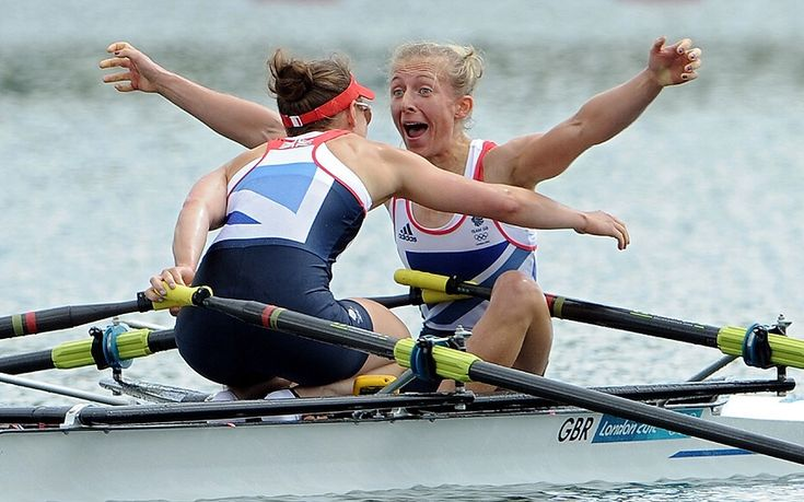 Katherine Copeland's delight at winning gold for Great Britain at the 2012 london Olympics