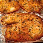 Parmesan encrusted White Fish – Optivia