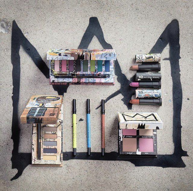 "Urban Decay positions itself as providing ""beauty with an edge"", making its detailed homage to (the very fashionable) Jean-Michel Basquiat completely on-brand. As well as using Basquiat's art for styling and presentation, the collection consists of three palettes inspired by his oeuvre."
