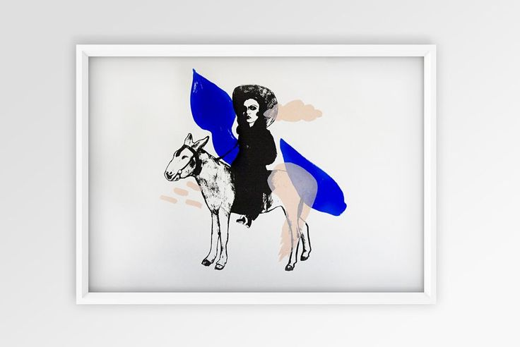 Yves Klein Blue via MESH STUDIO. Click on the image to see more!