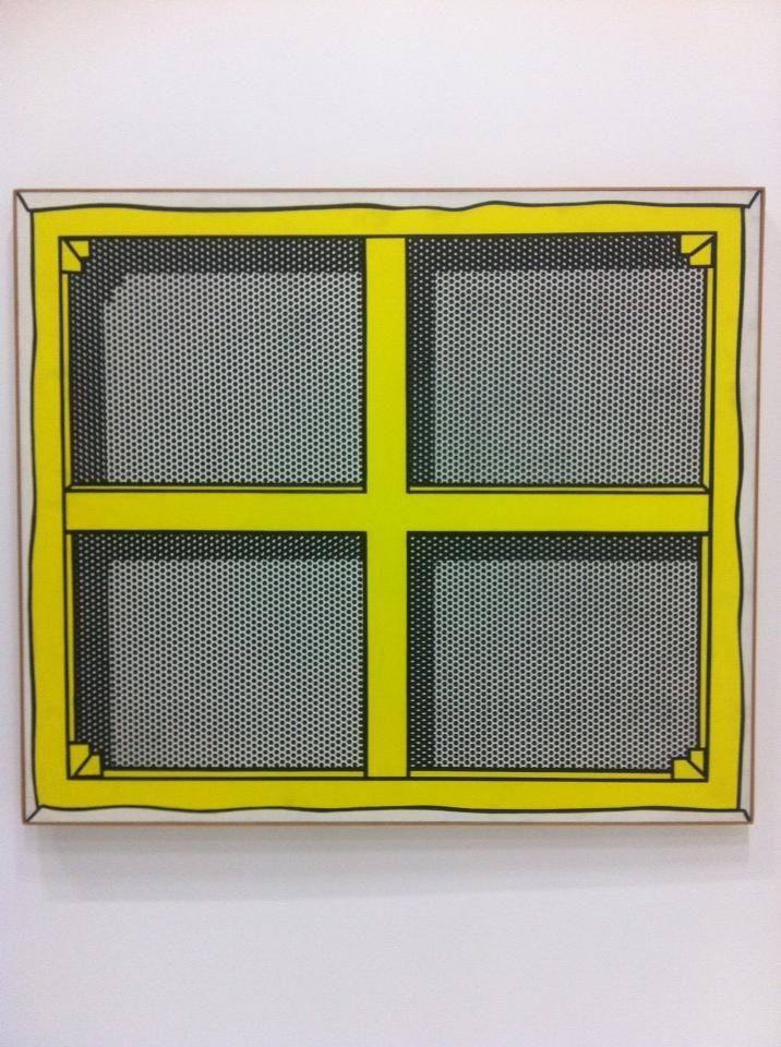 Roy Lichtenstein @ Musée Beaubourg (Centre Pompidou), Paris