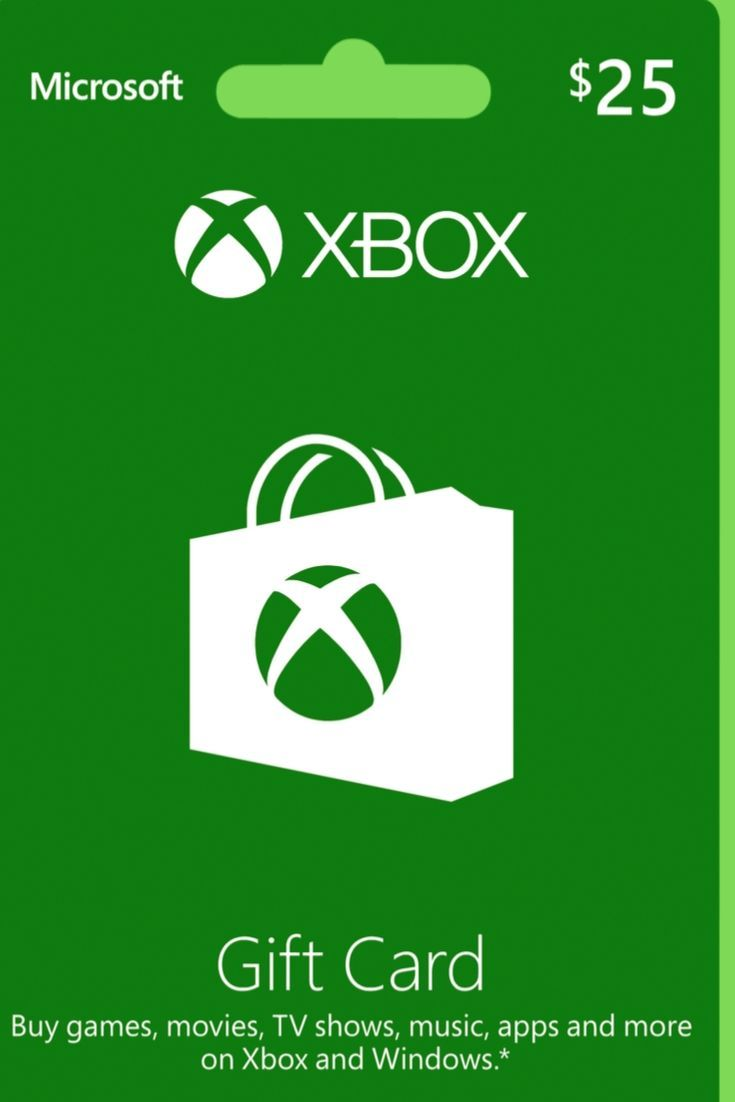 Get free 25 xbox gift card xboxgiftcard