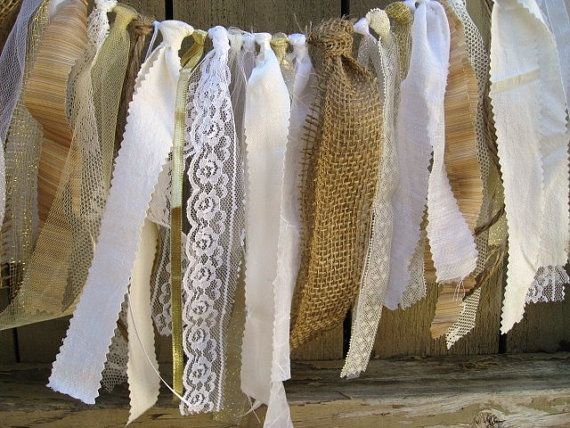 Wedding Garland Rustic Wedding Decor Wedding by AWorkofHeartSA, $70.00