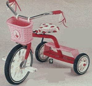 Strawberry Shortcake Steel Trike From The 1980s