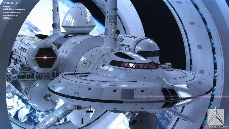 NASA's real life Enterprise concept may take us to the stars one day.......it's only a matter of time