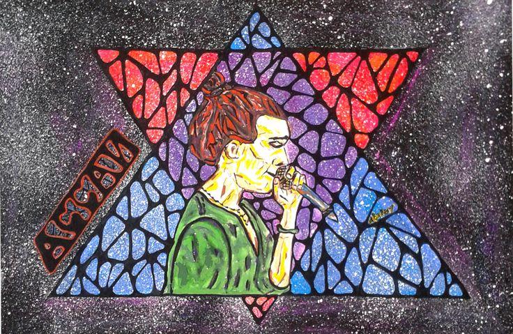 арт рисунок иллюстрация космос ассаи музыка art drawing atatay space music