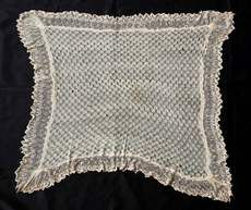 Harriet Tubman's lace shawl (circa 1897) given to her by England's Queen Victoria