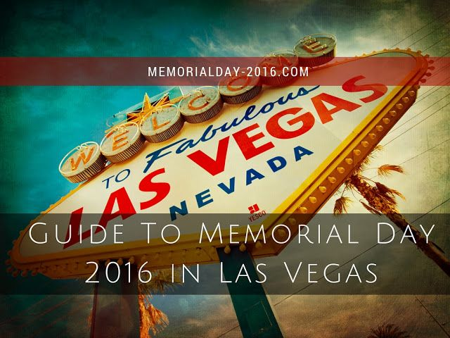 memorial weekend 2017 ideas