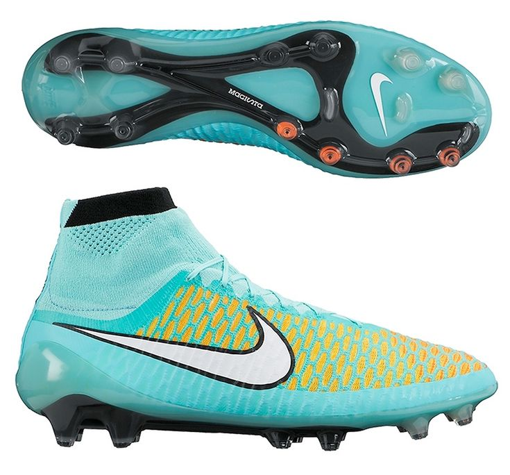 Nike Performance Magista Orden Fg Football Boots Hyper Turq/White/Laser Orange : Yh4553