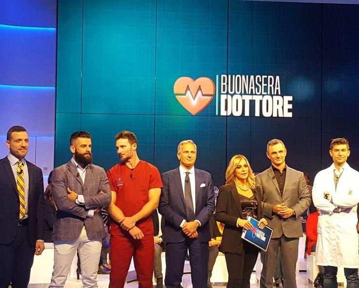 Puntata di Buonasera Dottore con il Professor Veronesi e il Dr Gabriele Benedetti. #osteopata #roma #monteverde