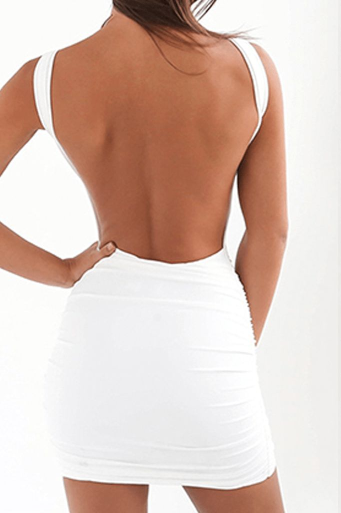 Open Back Summer Dress