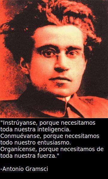 Sabías palabras de Antonio Gramsci