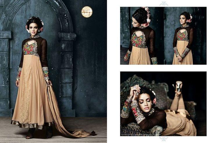 Indian Pakistani Designer Shalwar Bollywood Anarkali Salwar Kameez Suit 732-28 #JF