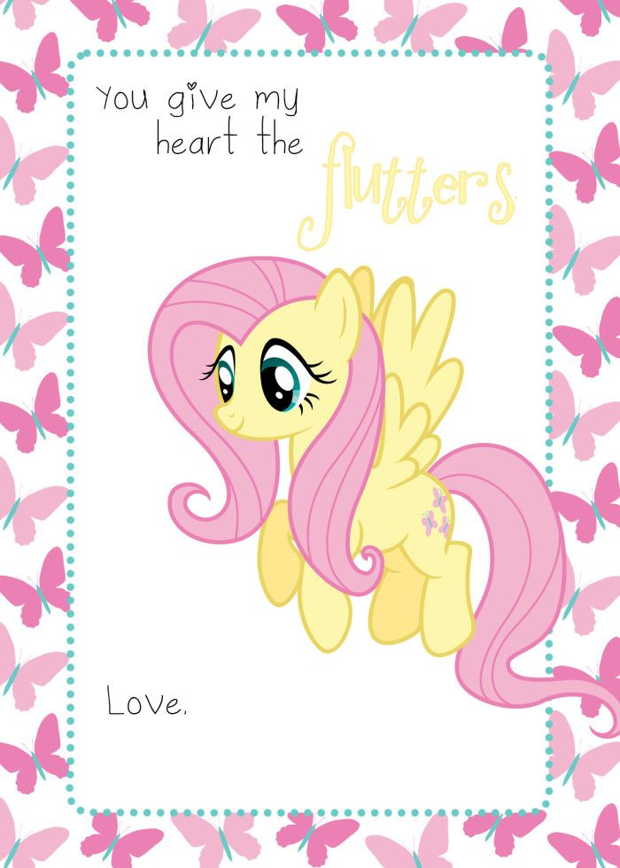 My Little Pony Valentine. 210 best mlp - hearts images on ...