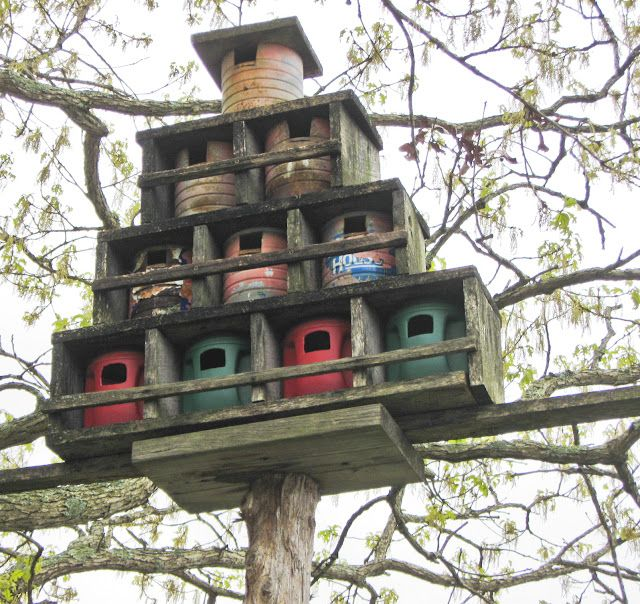 APPALACHIAN FOLK ART BIRD ROOST