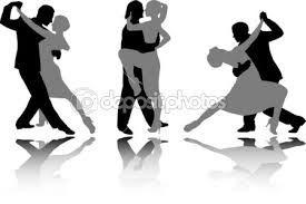 Znalezione obrazy dla zapytania taniec towarzyski grafika