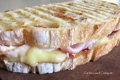 For the Love of Cooking » Turkey, Brie and Cranberry Chutney Panini