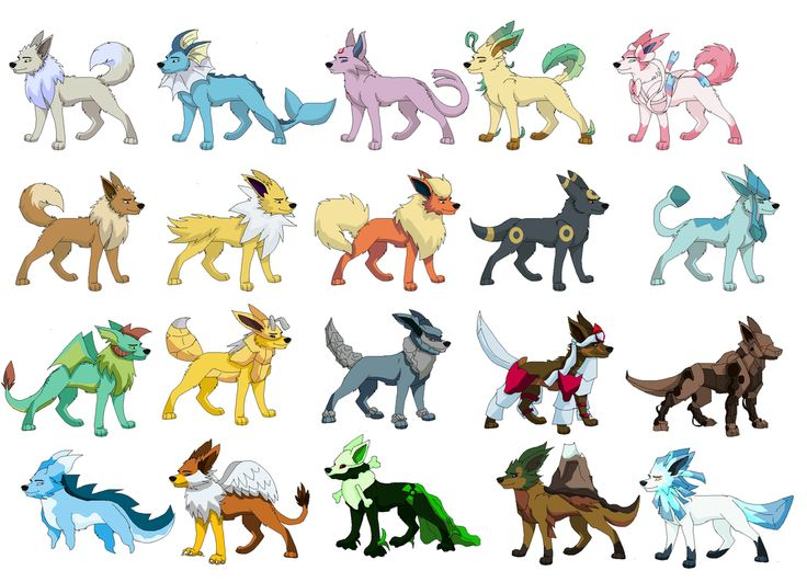17 best ideas about Shiny Eevee Evolutions on Pinterest ...