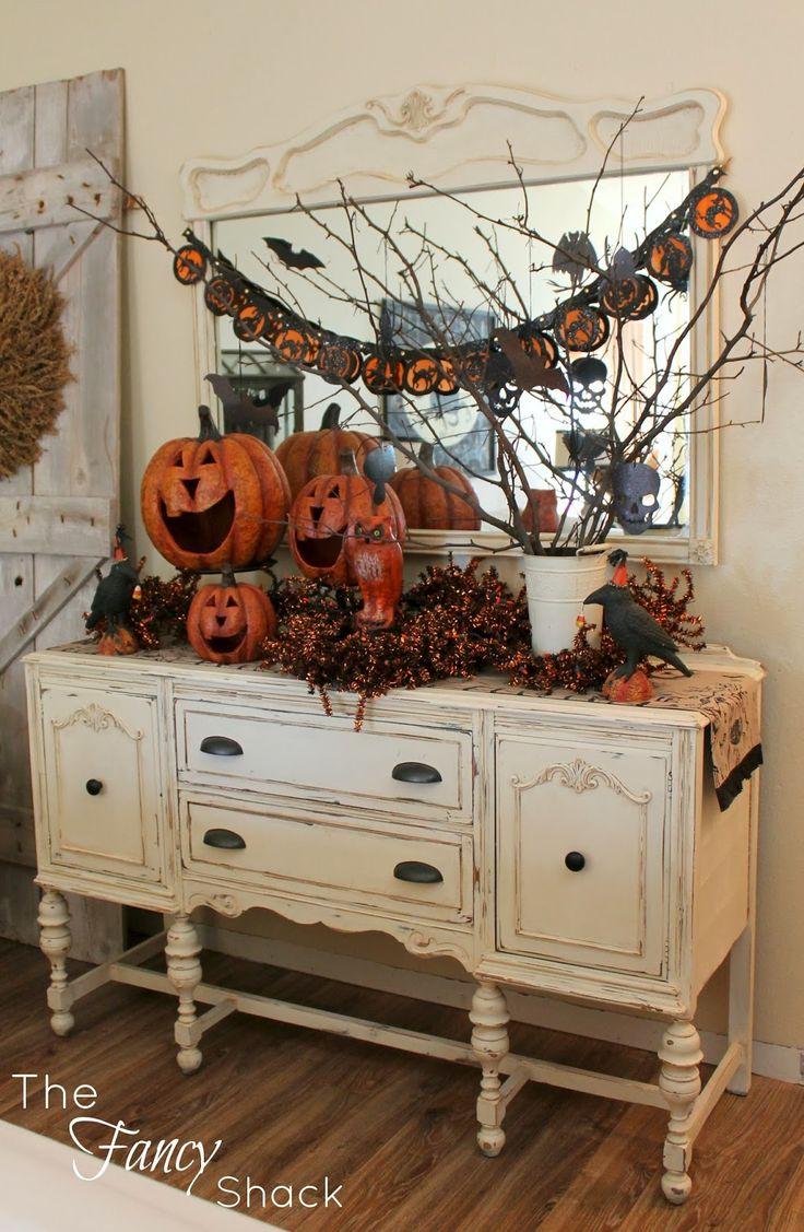 Best Decoration Ideas: The Fancy Shack: Halloween Vignettes