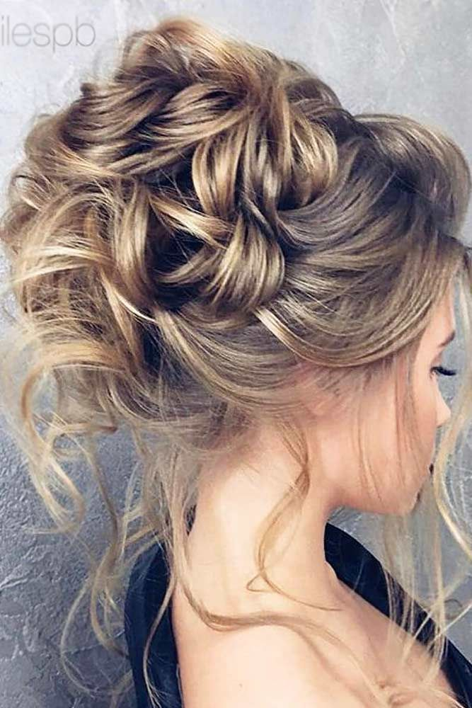 39 Totally Trendy Prom Hairstyles For 2020 To Look Gorgeous Hair Styles Messy Hair Updo Messy Hairstyles
