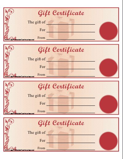 Best 25+ Printable gift certificates ideas on Pinterest Free - make your own gift certificates free