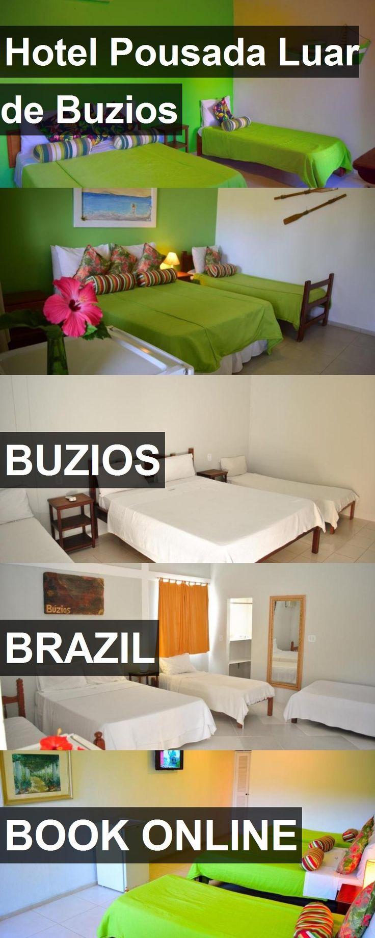 Hotel Hotel Pousada Luar de Buzios in Buzios, Brazil. For more information, photos, reviews and best prices please follow the link. #Brazil #Buzios #HotelPousadaLuardeBuzios #hotel #travel #vacation