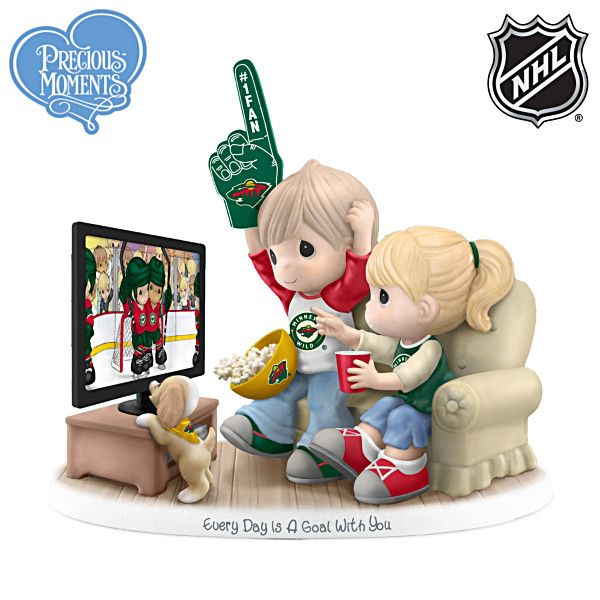 Every Day Is A Goal With You Minnesota Wild® Figurine