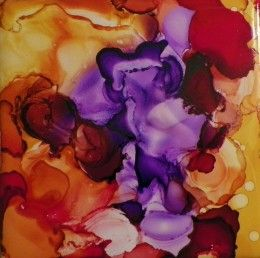 How to Use Alcohol Ink on Glass