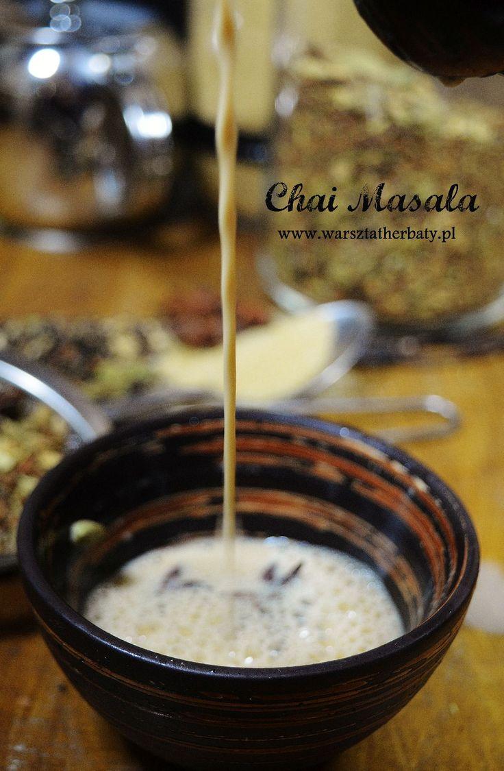Chai Masala - tradycyjny napar z Indii - przepis, historia, właściwości  http://warsztatherbaty.pl/content/26-chai-masala