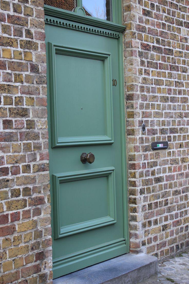 117 best front doors images on pinterest entrance doors - Farrow and ball exterior door paint ...