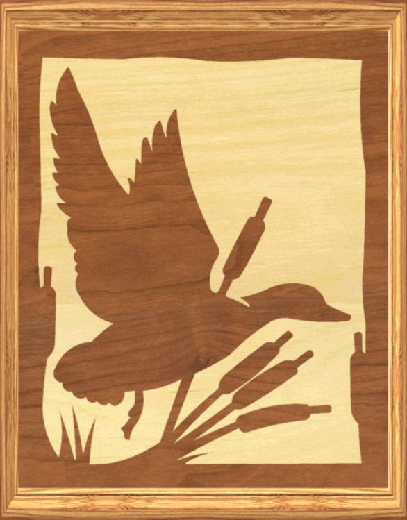 free duck scrollsaw patterns | Free Scroll Saw Intarsia Patterns Pictures