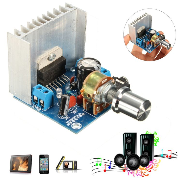 3pcs 15w Tda7297 Dual-channel Amplifier Board For Arduino. 3Pcs 15W TDA7297 Dual-Channel Amplifier Board For Arduino     Features:     AC / DC, 2.0 / dual channel / stereo,12V/2A when using, the output power of 15W  15 W, peak up 25W  25 W  Can be accessed by two 4-8 10-50W speakers  A large volume of small size  High signal to noise ratio  Upgraded version of the radiator, wider and thicker, better cooling effect  Fit for Bookshelf speakers, CRT televisions, radios, and other…