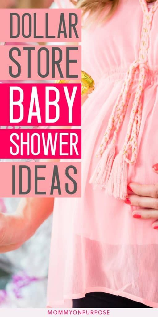 Genius Dollar Store Baby Shower Ideas