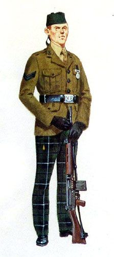 Cameronian(Scottish Rifles) No2 dress
