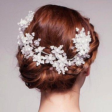 bling kristal bruiloft / feest bruids-hoofddeksels met imitatie parels – EUR € 14.99